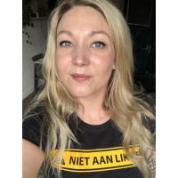 Niet aan likken - Fitted Tshirt
