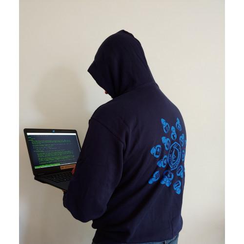Hack42 - Hacker Mandala RitsHoodie