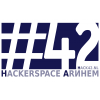 Hack42-logo - Stickervel