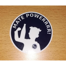 MATE POWERRRR! - Stickervel