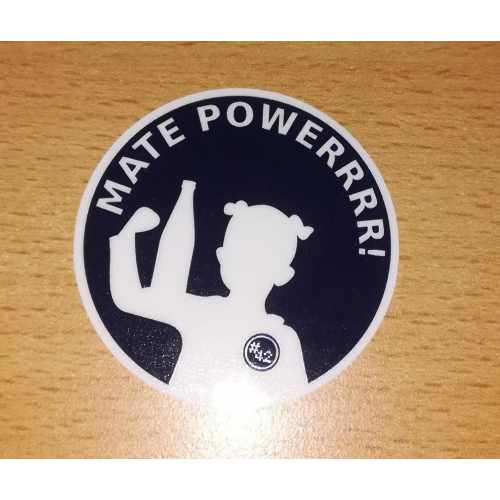 MATE POWERRRR! - Stickervel